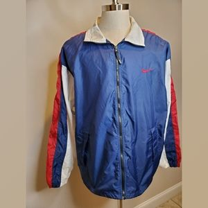 Vintage Nike Windbreaker Red White and Blue